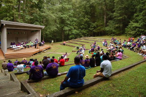 Family & Friends Worship In The Park 2014